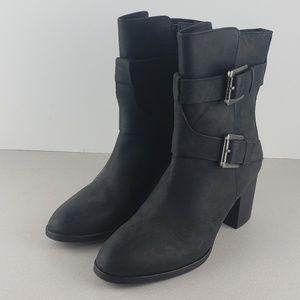Lauren Black Ankle Boots wmns 9.5